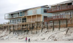 Gone With the Wind: Storms Deepen Florida's Beach Sand Crunch