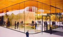 Apple's New Glass Spaceship Headquarters Discourages Distracted Walking