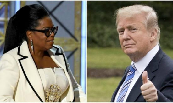 Trump Hopes Oprah Will Run for President in 2020, So 'She Can Be Exposed and Defeated'