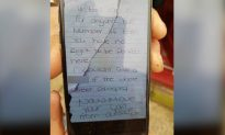 'Move Your Van': Woman Arrested After Note Left on Ambulance