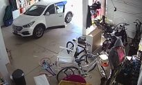 Woman Parks in Open Garage, Does Something Infuriating