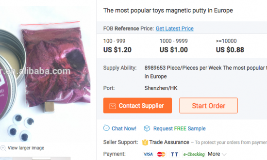 Girl Poisoned by Arsenic From Magnetic Putty Toy Bought on Amazon, Mother Says