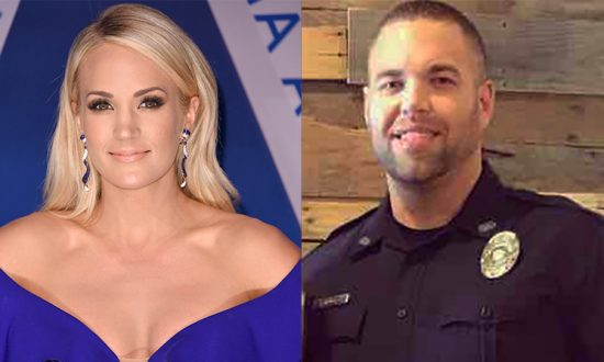 Country Music Star Carrie Underwood Donated $10,000 to Injured Assistant Police Chief