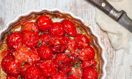 Ali Rosen's Cherry Tomato Tart