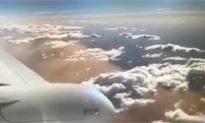 Aerial Footage Shows Huge Dust Storm Over Queensland