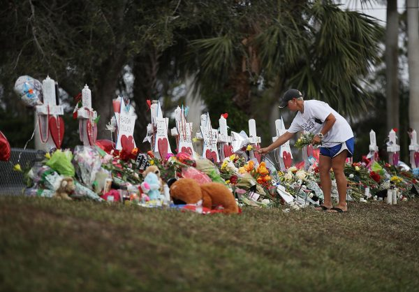 Florida High School students walk out of class - to support Second Amendment