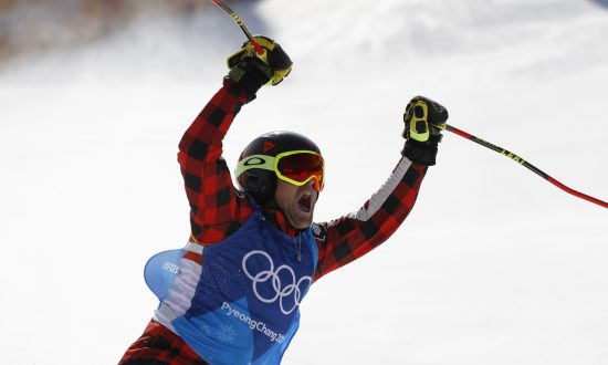 Canada's Leman Claims Ski Cross Gold
