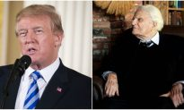 Trump Releases Statement on Passing of Billy Graham