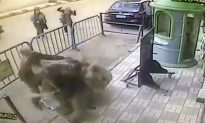 Egyptian Officers Catch Boy Falling From Balcony, Is Unharmed