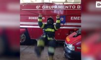 Firefighter Performs the 'The Octave': And He was Wearing his Full Kit