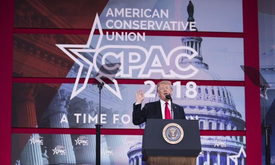 President Trump's CPAC Speech Exalts American Values