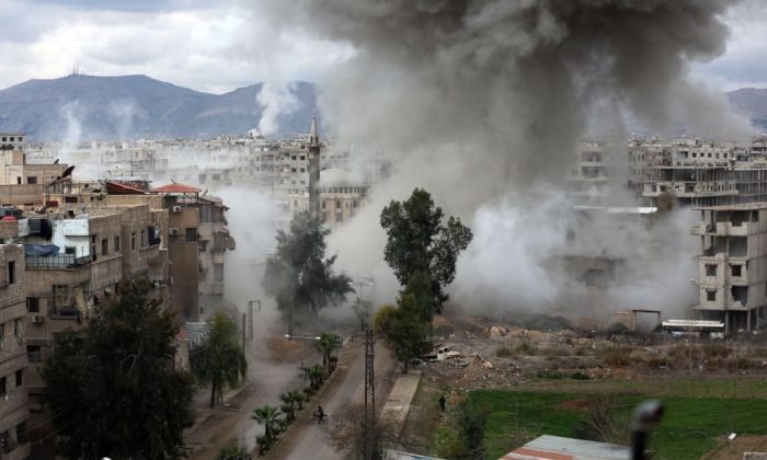 UN Security Council To Vote On Syria Truce Proposal