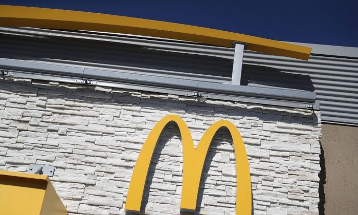 A McDonald's restaurant sign in Miami in this file photo.  (Joe Raedle/Getty Images)