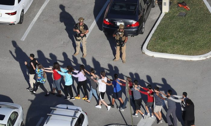 Video shows school resource officer outside during Parkland massacre