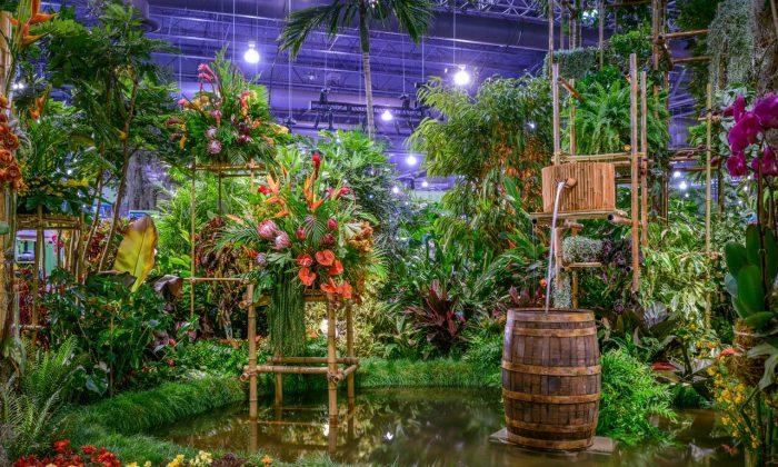The entrance to the Philadelphia Flower Show. (Rob Cardillo Photography)