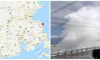 Powerful Nor'easter Pounds on Massachusetts Coastline, Damages Homes