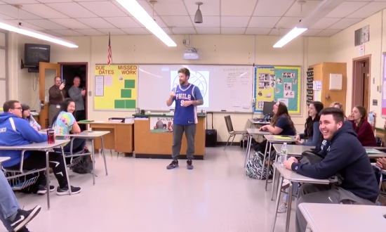 Grieving teacher shocked by what his class does to him—but he doesn't let them get away with it