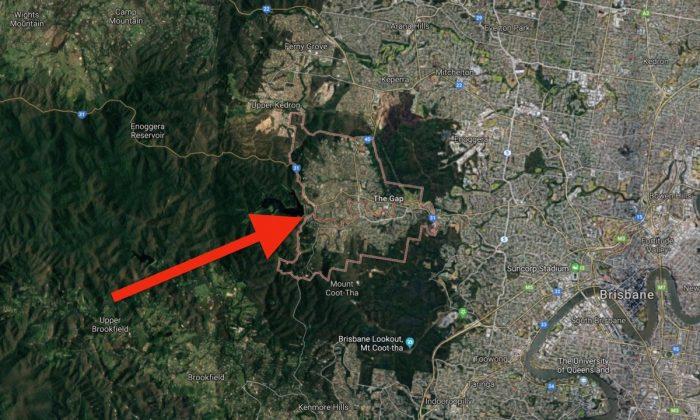Map of The Gap in Brisbane, Australia, where a man attacked a 14-year-old boy at a skate park. (Screenshot via Google Maps)