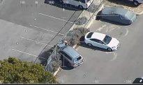 Police Follow Alleged Bumbling Car Thief Through Suburbs