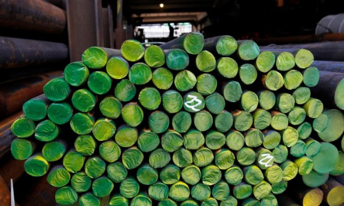 The Canada Border Services Agency is being granted extra powers to identify businesses that try to dodge import duties and ship cheap foreign steel and aluminum through the Canadian market. (Reuters/Jo Yong-Hak/File Photo)
