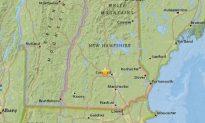 Small Earthquake Hits New Hampshire