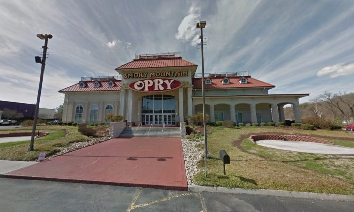 Smoky Mountain Opry, in Pigeon Forge, Tennessee. (Screenshot via Google Maps)