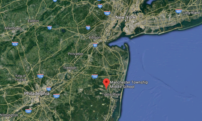 Manchester Township Middle School, N.J. (Screenshot via Google Maps)