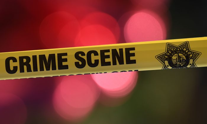 File photo of a crime scene. (MARK RALSTON/AFP/Getty Images)