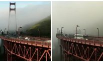 Time Lapse: Thick Fog Descends on San Francisco Ahead of Storms