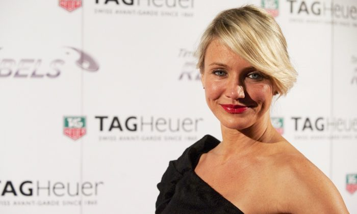 Cameron Diaz at the Baselworld fair in Basel, Switzerland on March 7, 2012.