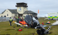 Man Injured After Helicopter Crash in Scotland
