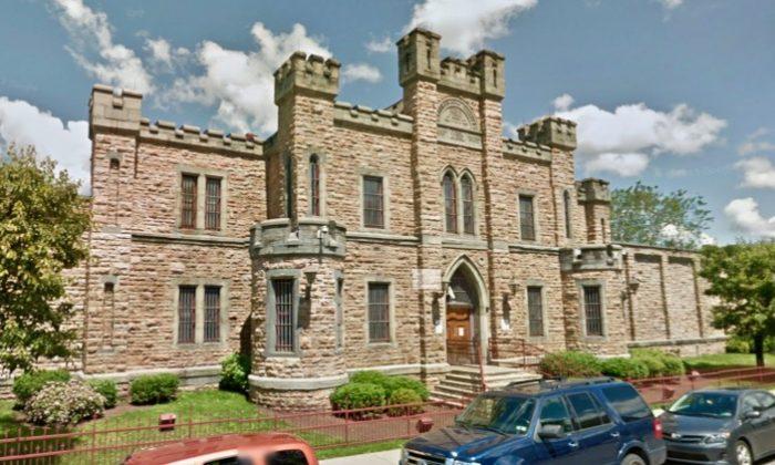 Lackawanna County Prison in Scranton, Pennsylvania. (Screenshot via Google Maps)