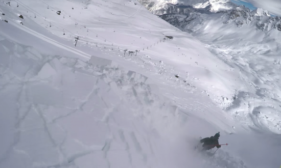 Body cam captures exact moment ski trip turns into everyones worst nightmare