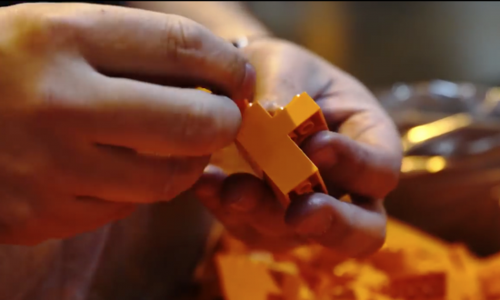 This professional lego builder doesn't mess around—see what he built that broke the world record