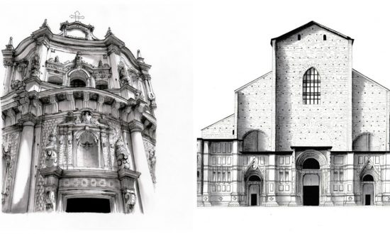 These drawings of Europe's most famous buildings are stunning—then you see how big they really are
