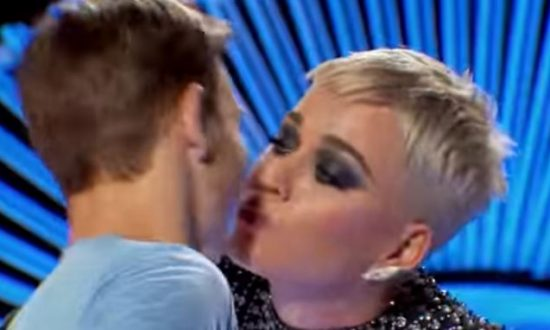 Katy Perry Under Fire Over Unwanted Kiss on 'Idol'