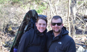 Couple decide to venture in the forest with metal detector—what they find—it was a complete set up
