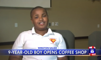 9-Year-Old Opens Coffee Shop to Help People With Disabilities