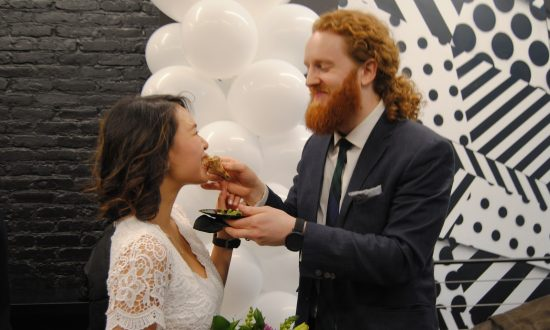 Engaged for only 3 months but what they saw at lunch one day—they couldn't refuse the offer