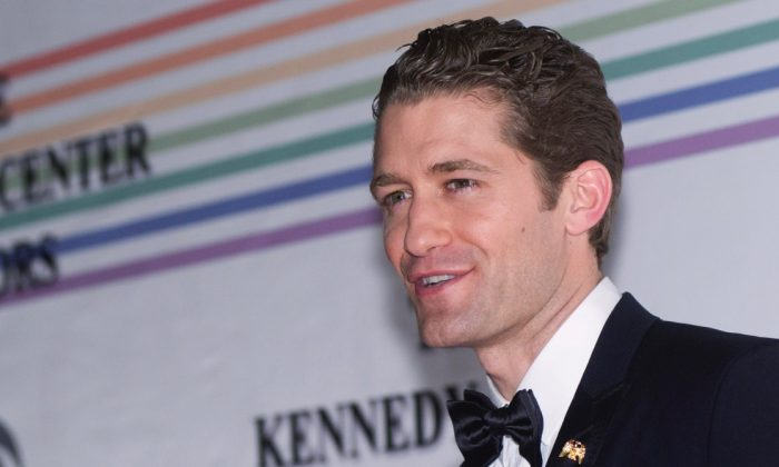 Matthew Morrison during the 33rd Annual Kennedy Center Honors at the Kennedy Center Hall of States on December 5, 2010 in Washington, DC. (Photo by Kris Connor/Getty Images)