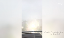 Explosion Caught on Camera as Cyclone Marcus Hits Darwin