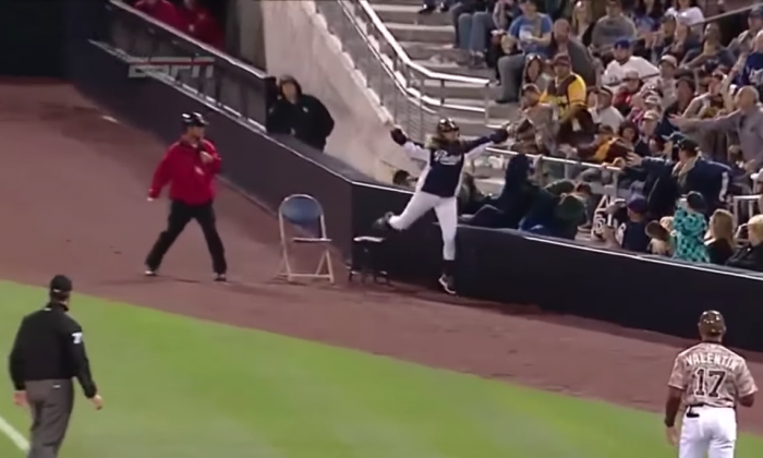 Ball goes flying during MLB baseball game—but girl takes an absolutely incredible catch
