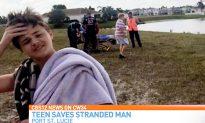 Florida Teen Saves Drowning Neighbor, Hailed as Hero