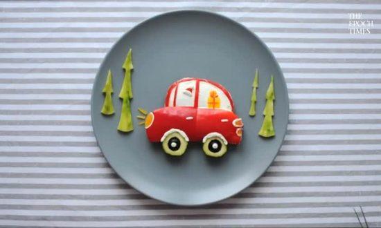 Yummy Art: Ukrainian Turns Food Into Delicious Paintings