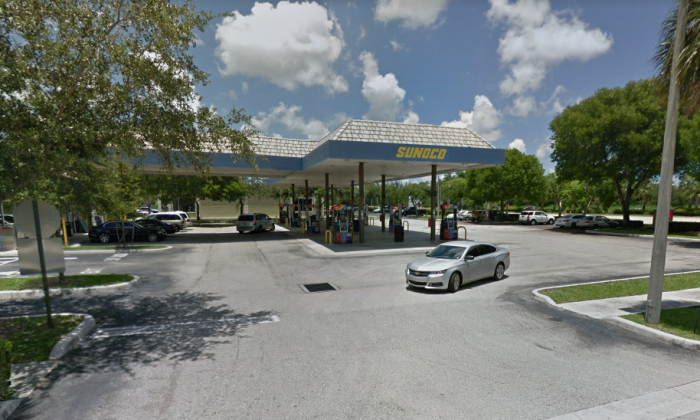 A Sunoco gas station in Royal Palm Beach, Florida. (Screenshot via Google Maps)