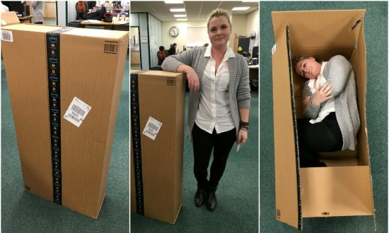 Woman Receives Huge Amazon Package—But She Only Ordered One Small Thing