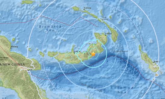 Magnitude 6.8 quake hits near Papua New Guinea: USGS