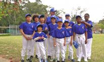 Coach Pitch Baseball League Underway in Hong Kong