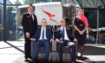 Qantas Airways Makes First Non-Stop Flight Between Australia and Europe
