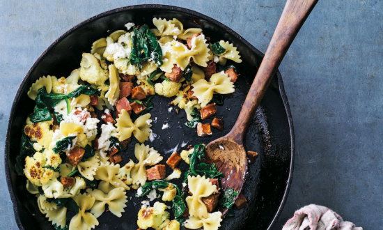 Big Skillet Cauliflower Pasta